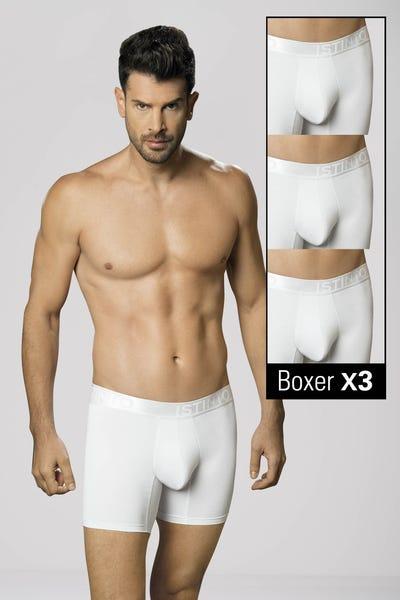 TRIO BOXER Blanco