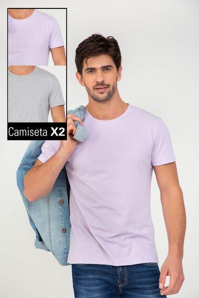 DUO CAMISETA MANGA CORTA Multicolor