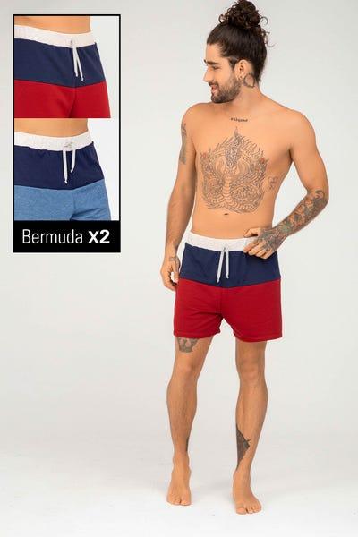 DUO BERMUDA  Multicolor