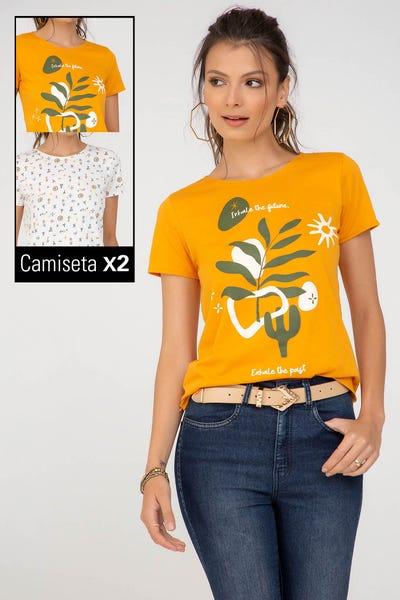 570980 DUO CAMISETA Multicolor